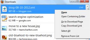 Backup dalam file .xml