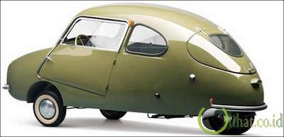 Fuldamobil S-6 1956
